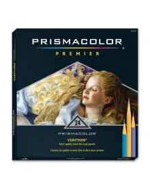Prismacolor Verithin Coloured Pencil Set of 24