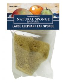 Pro Art Large Elephant Ear Natural Sponge