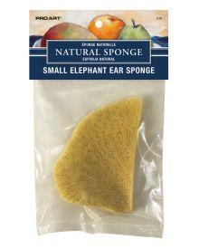 Pro Art Small Elephant Ear Natural Sponge