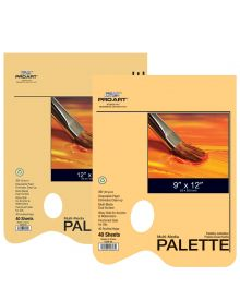 Pro Art Multi Media Disposable Palette Tape Bound Pads