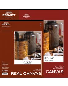 Pro Art Real Canvas Pads