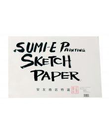 """Yasutomo Rice Paper Sketch Pad, 48 Sheets, 12-1/8"""" x 18-1/8"""""""