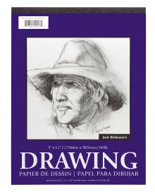 Jack Richeson Drawing Pad 9x12-inch 100 Sheets