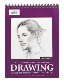 Jack Richeson Drawing Pad 9x12-inch 30 Sheets