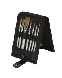 Jack Richeson Travel Water-media Plein Air 7pc Brush Set
