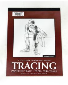 Jack Richeson Tracing Pad 9X12-inch 50 Sheets