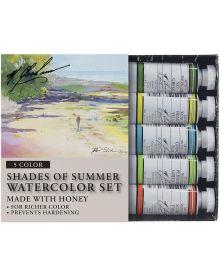 M. Graham Shades of Summer 5-Colour Watercolour Paint Set