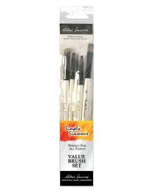 Simply Simmons Creative Instinct Value 5-Brush Set