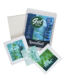 Speedball Gel Printing Individual Plates
