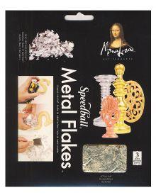 Mona Lisa Gold Metal Flakes 3-Gram Pack