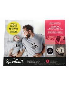Speedball Beginner Paper Stencil Screen Printing Kit
