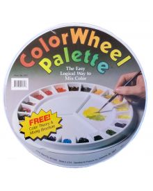Speedball Color Wheel Palette 12 1/4 in. diameter