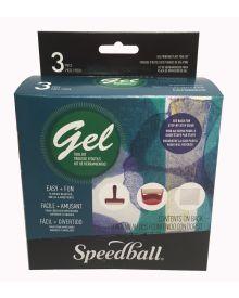 Speedball Gel Printing Plate Tool Kit 3 Piece