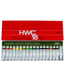 Holbein Artists' Watercolour Set - 18 Tubes