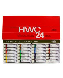 Holbein Artists' Watercolour Set - 24 Tubes