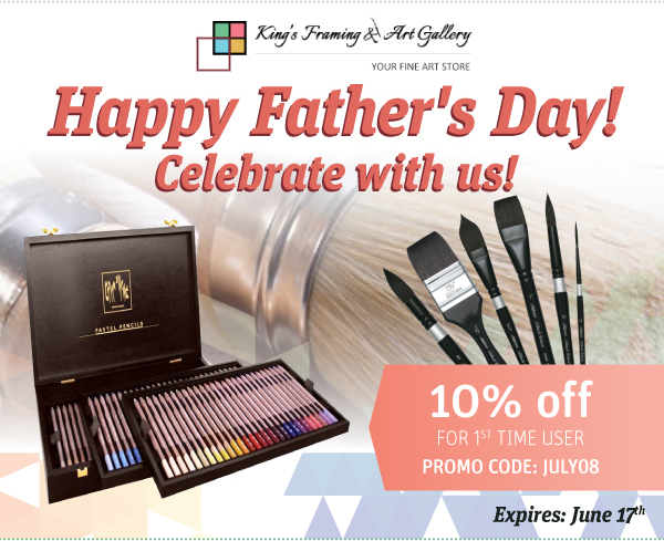 Celebrate art this Father's day