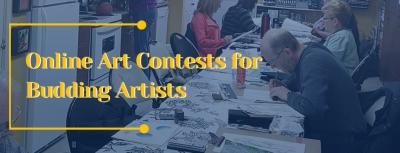 Why should budding artists participate in Online Art Contests?