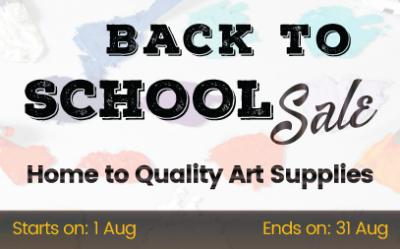 15% OFF - Back to School 2019 !!