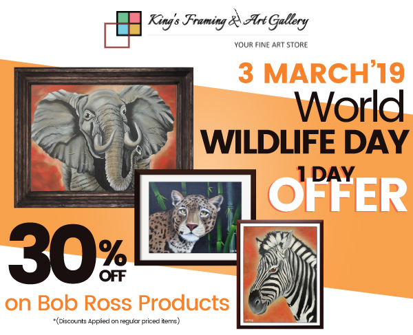 Biggest Wildlife day Sale and Women's day sales!